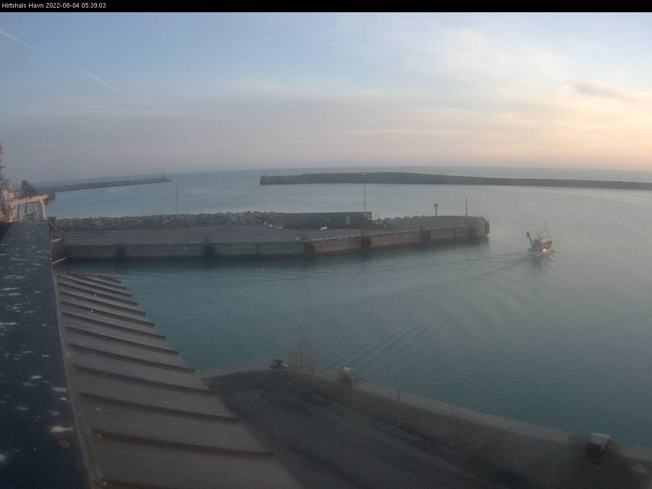 Webcam Hirtshals Havn